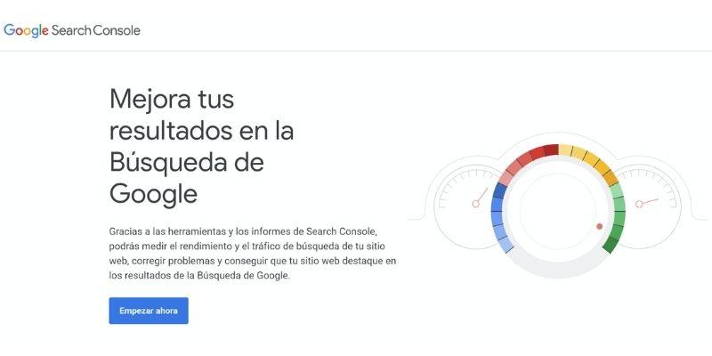 Crear cuenta de Google Search Console