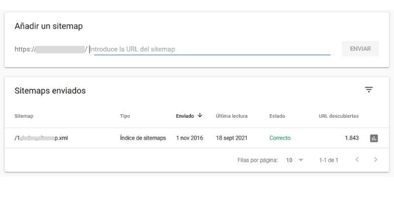 sitempa google search console