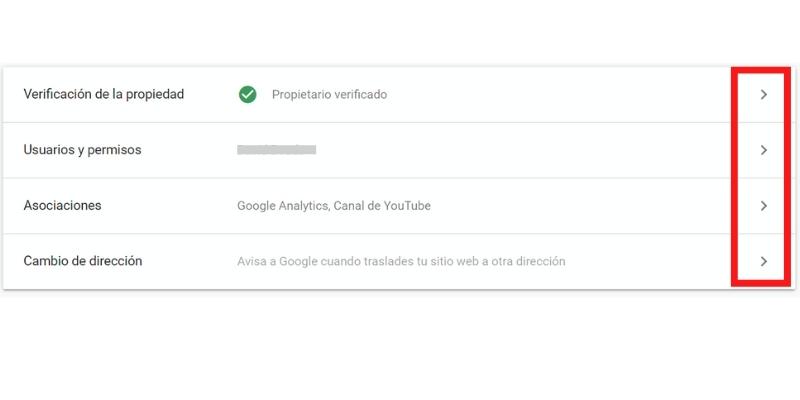 Configuración Propiedad Google Search Console